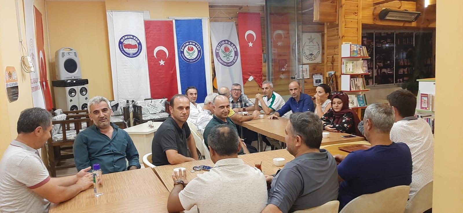 Eğitimciler Birliği Sendikası Samsun 2 Nolu Şubesi Eylül Ayı Divan Kurulu Toplantısını Gerçekleştirdi